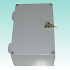 Aluminum-enclosure AL003 with external hinges